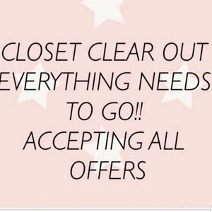 Other - Closet Clear Out Sale!!!!